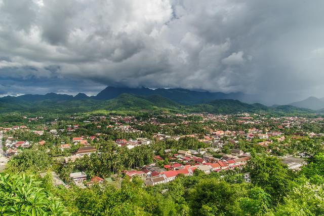 Nubes en Luang Prabang