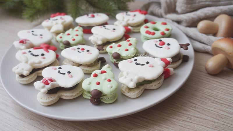Christmas Macarons Recipe