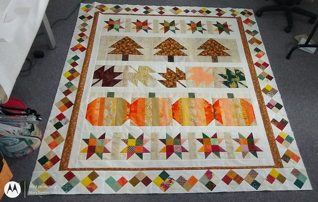 Autumn Jubilee 2020 row quilt