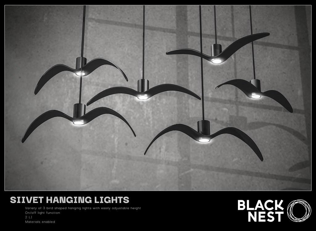 BLACK NEST / Siivet Hanging Lights / Group Gift