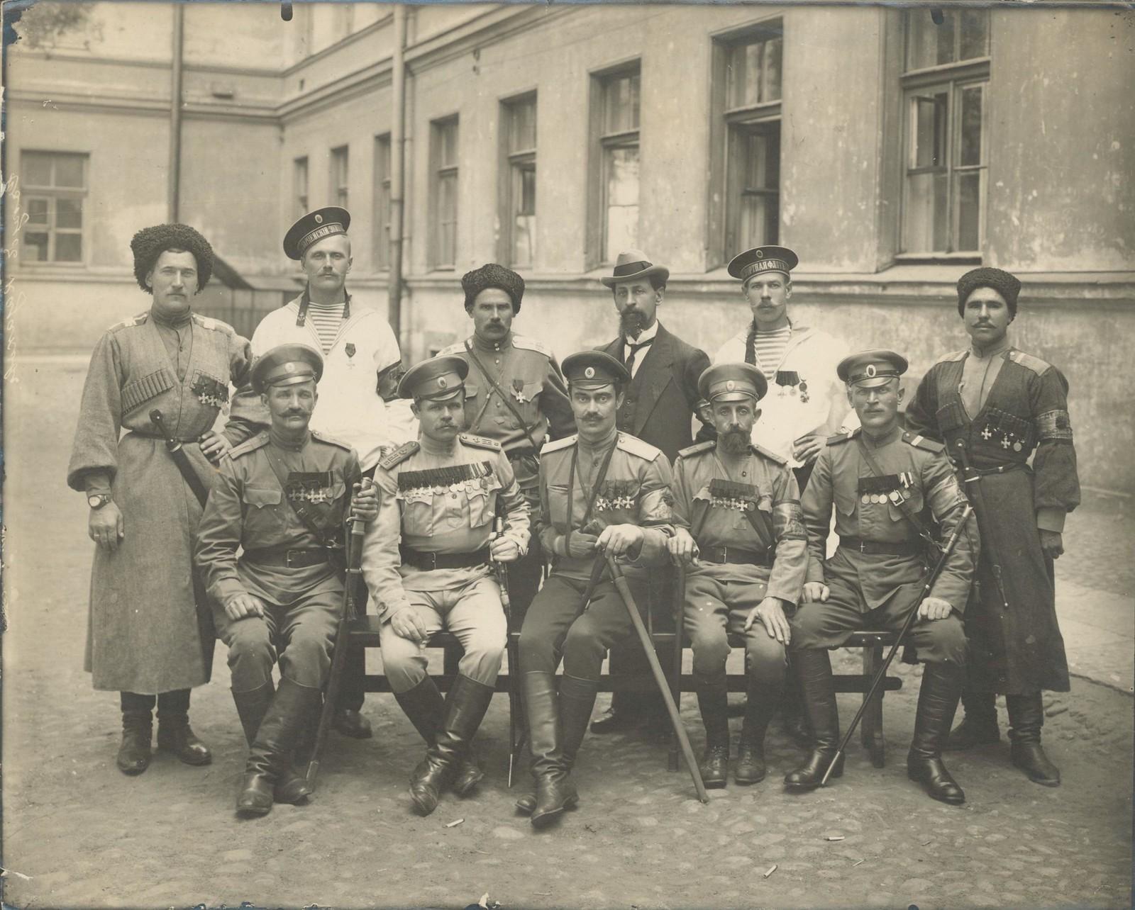 46. Центральная делегация Союза георгиевских кавалеров, организовавшая Петроградский отдел Союза