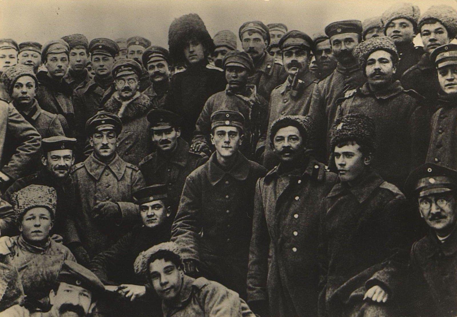 38. Братание на Восточном фронте