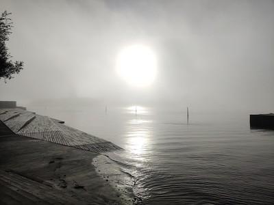 Aarhus in the fog