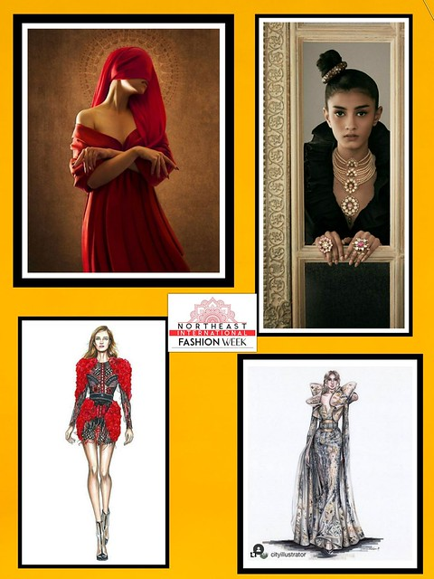 NorthEast International Fashion Week - org by Prasantt Ghosh