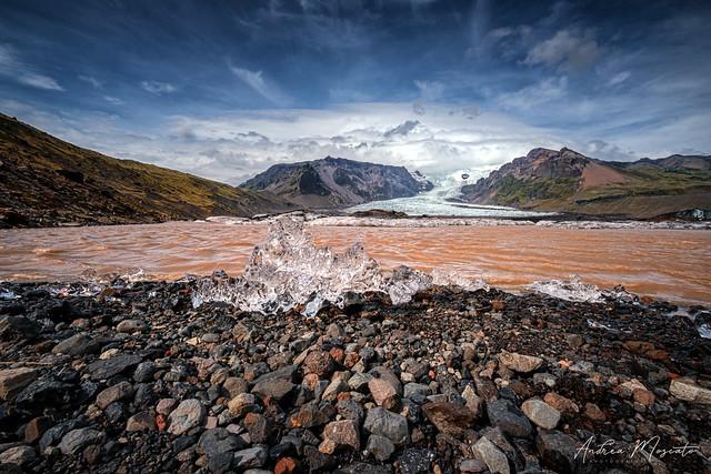 Kvíamýrarkambur Glacier (Iceland)