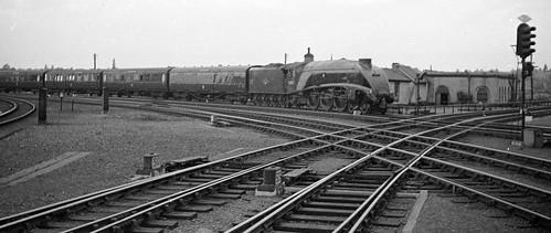 Up ECML Express Arriving at York
