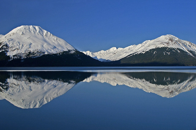 Turnagain Arm - A Rare Near Perfect Reflection