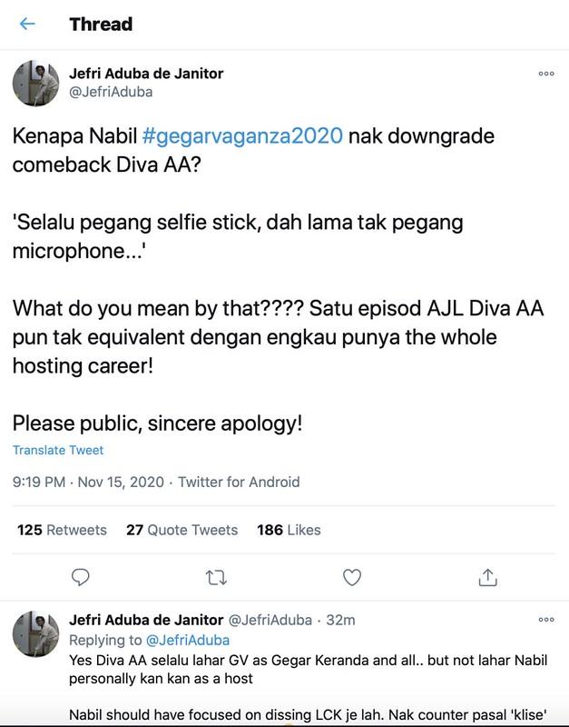 &Quot;Selalu Pegang Selfie Stick, Dah Lama Tak Pegang Microphone,&Quot; Nabil Ahmad Tuju Pada Siapa?