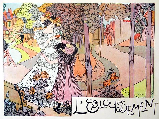 FEURE, Georges de. Éblouissement, 1898