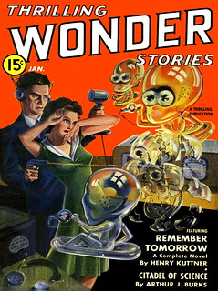 Thrilling Wonder Stories / January 1941