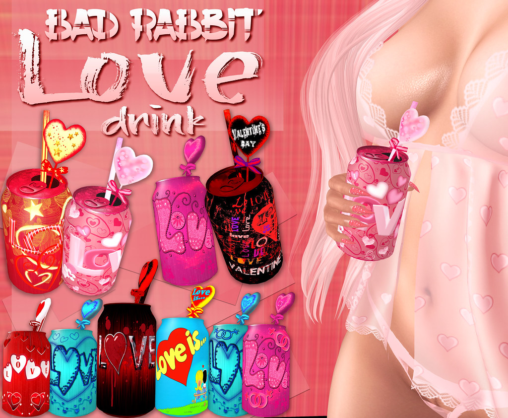 .:Bad Rabbit:. Love drink Pack