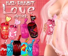 .:Bad Rabbit:. Love drink Pack