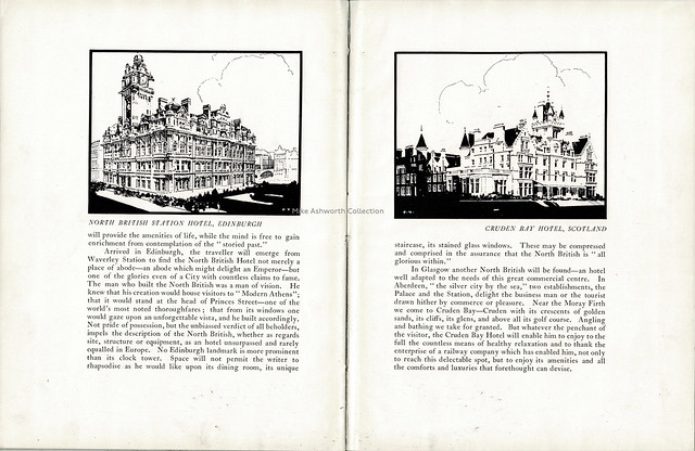 London & North Eastern Railway - souvenir presented to the members of the International Hotel Alliance, visit to Great Britain, April 1926; LNER Hotels 2