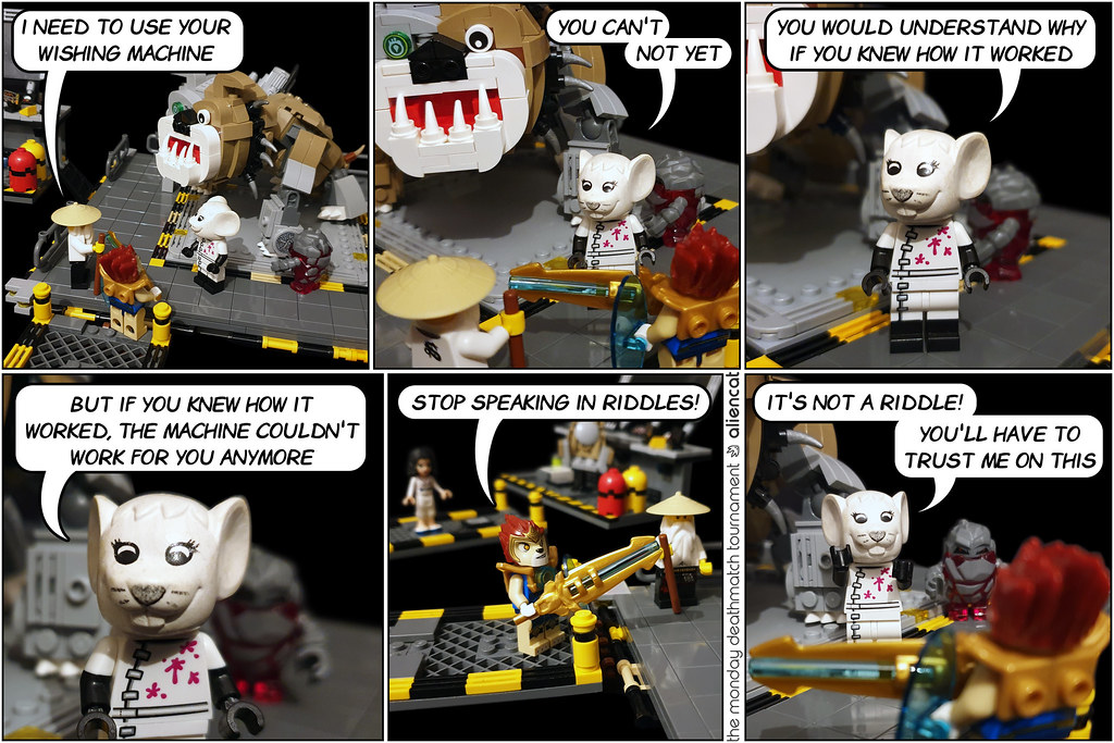 The Monday Deathmatch Tournament - Page 190: The Mouse Tower