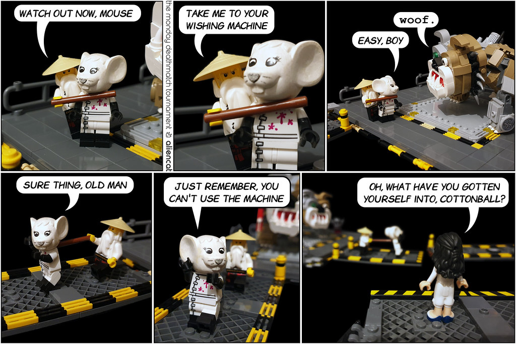 The Monday Deathmatch Tournament - Page 192: Watch out now, Mouse