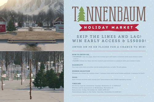Win early access to Tannenbaum!
