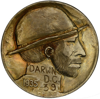 Hobo nickel Darwin DC | by Numismatic Bibliomania Society