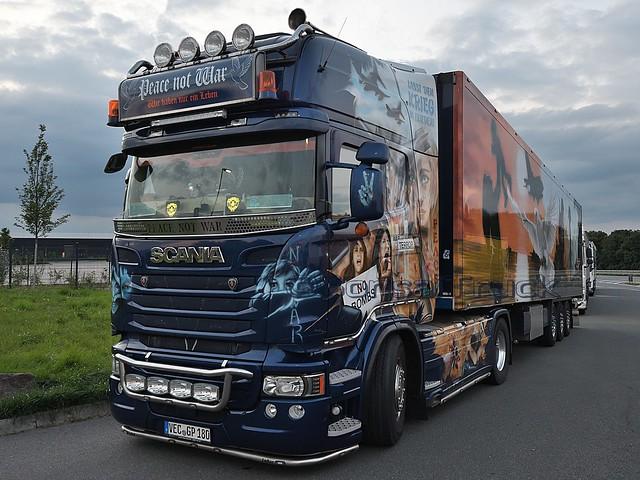 D - Günter Pille >Peace not War< Scania R13 TL