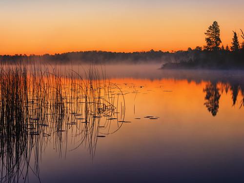 Armstrong Lake Sunrise - Ely - Northern Minnesota (PRINT)