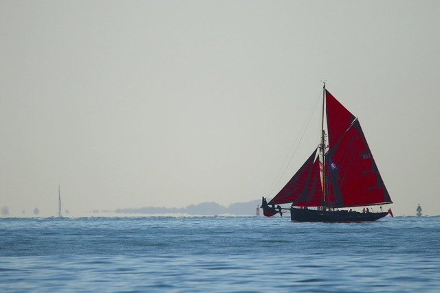 Sailboat on the Solent