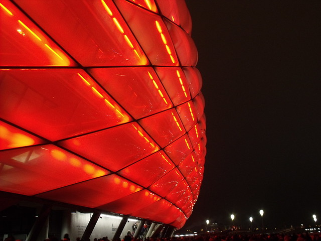 Allianz Arena ..... Home sweet home 👍