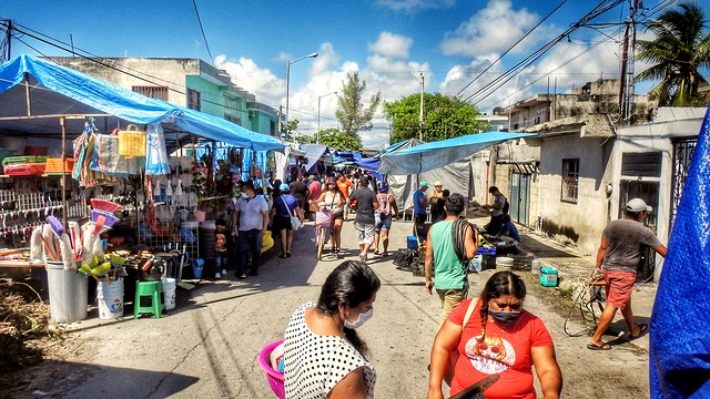 Playa del Carmen Sunday Market