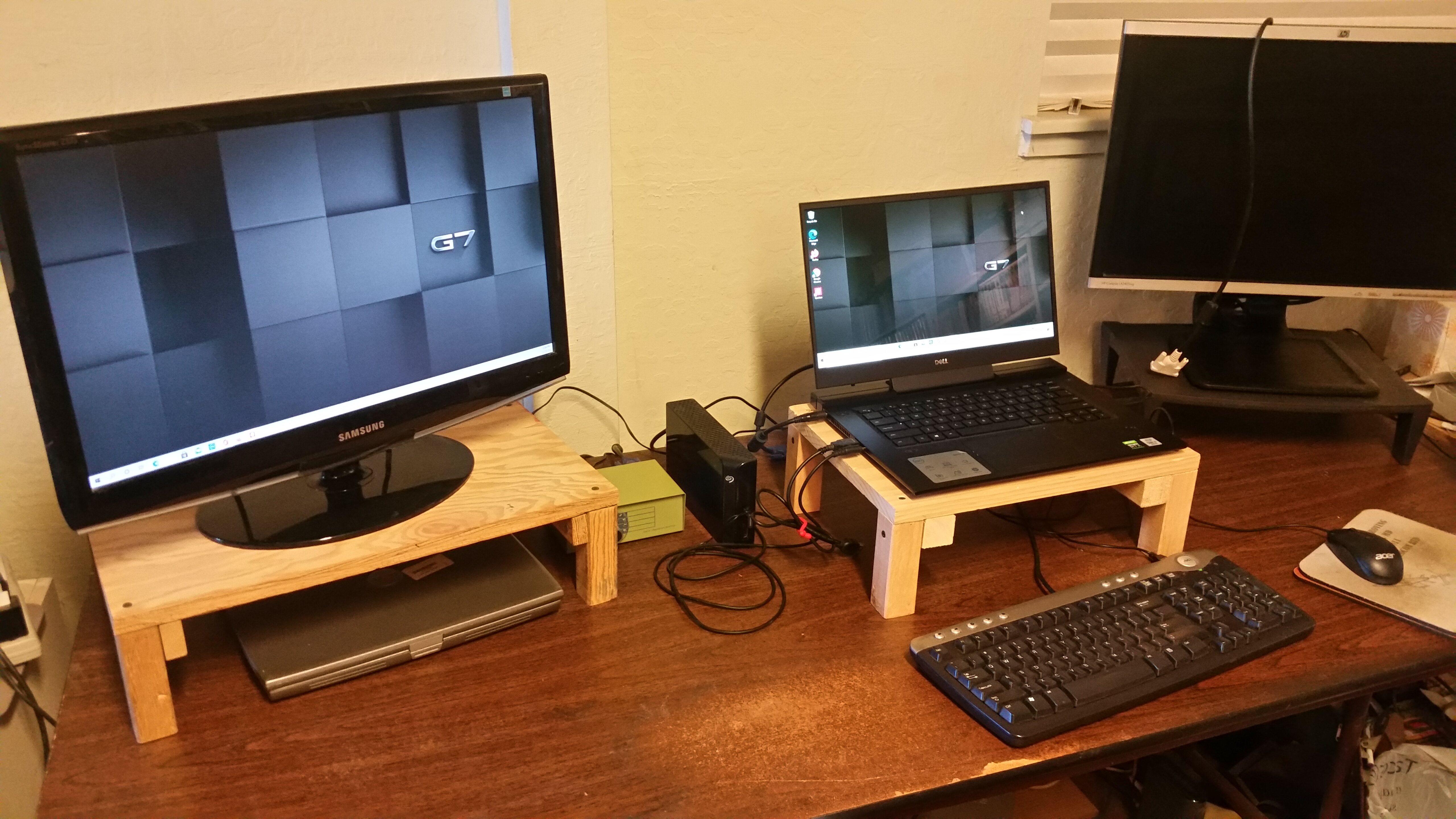 New Workstation Arrangement