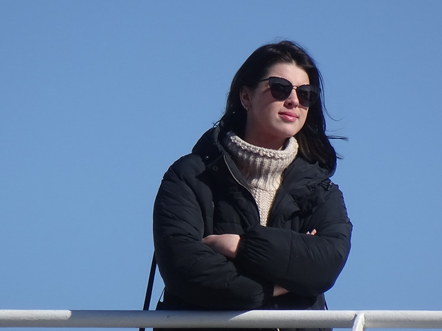 Watching the Ferry Load