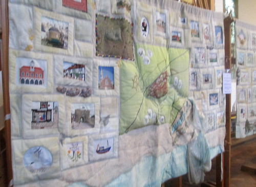Memorial Quilt in St Mary's Church, Rye