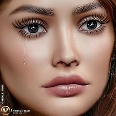 A woman's tears vendor