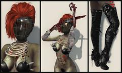 Helli - SL Syndicate - Forsaken Planet - Collage