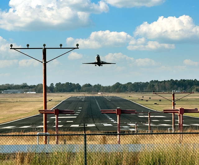Takeoff From Shreveport Regional Airport