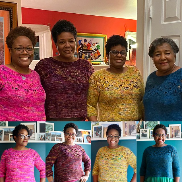 Love Note family sweaters