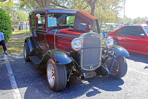 ford car sedan modela automobile florida carshow 1930 crystalriver customizedcar