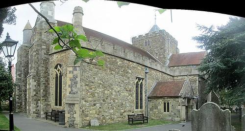 St Mary's Church, Rye, (Photo Stitch)