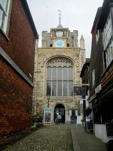 St Mary's Church, Rye, Clock Tower