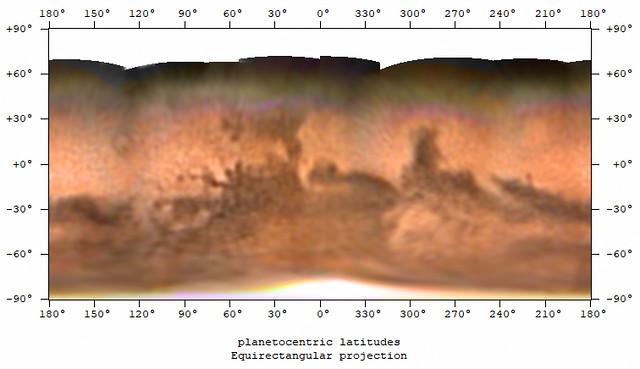Mars Map (Sep/Oct 2020)