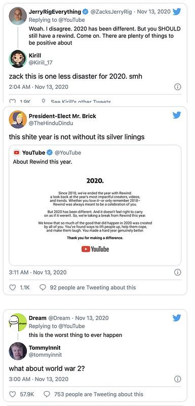 Ini Sebabnya Youtube Umum Tidak Akan Menyiarkan Youtube Rewind 2020