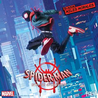 千值練 新系列 SV-Action 首彈《蜘蛛人:新宇宙》邁爾斯·摩拉斯/蜘蛛人 超酷登場!