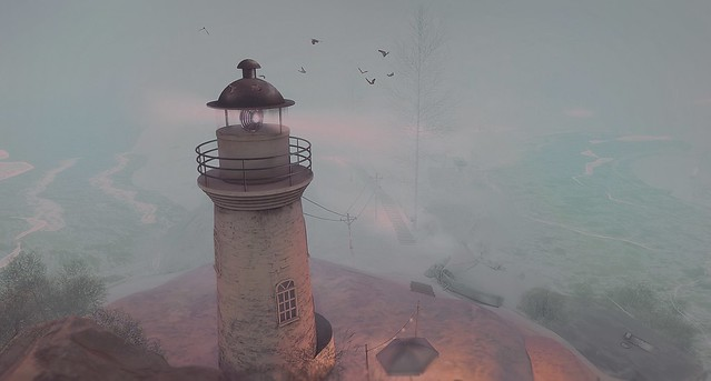 Guiding Light Thru Mist Eternal [lighthouse series]