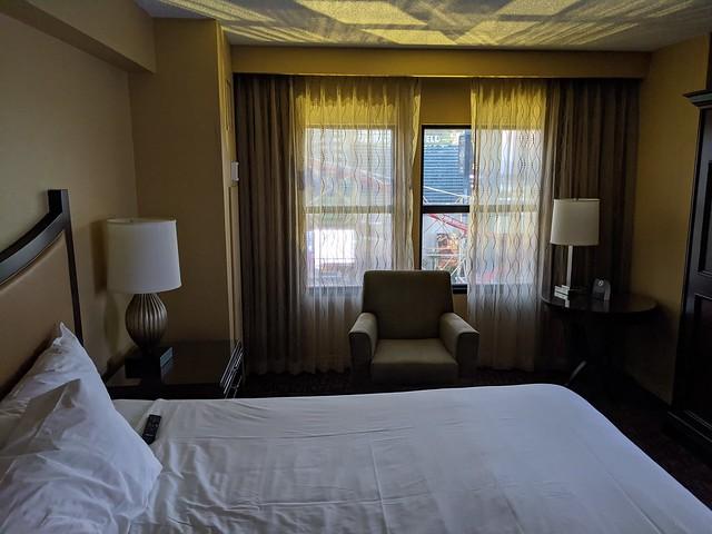 Living Las Vegas Coronavirus Style — Sunday/Day One — Guest Room 1250/The New Yorker Resort Tower — The New York-New York Hotel & Casino — Las Vegas 2020