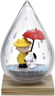 RE-MENT《史奴比》Terrarium系列「SNOOPY WEATHER」盒玩 欣賞玻璃瓶裡的天氣變化~