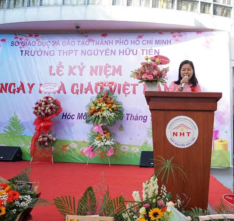 Kỷ niệm 38 năm ngày nhà giáo Việt Nam