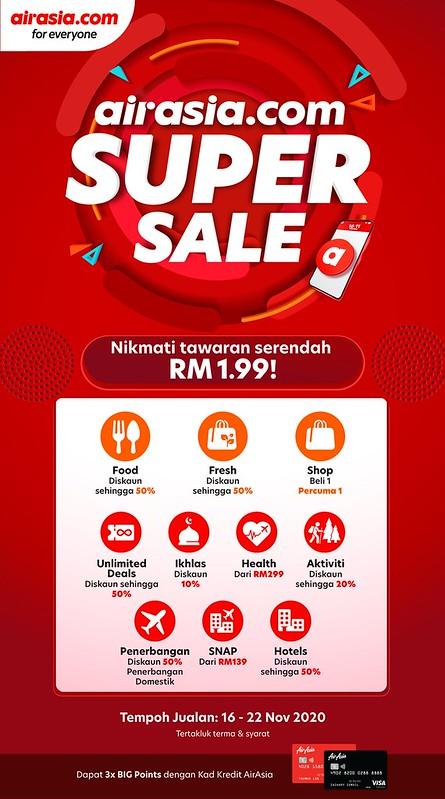 airasia.com Super Sale Kembali Dengan Tawaran Lebih Hebat