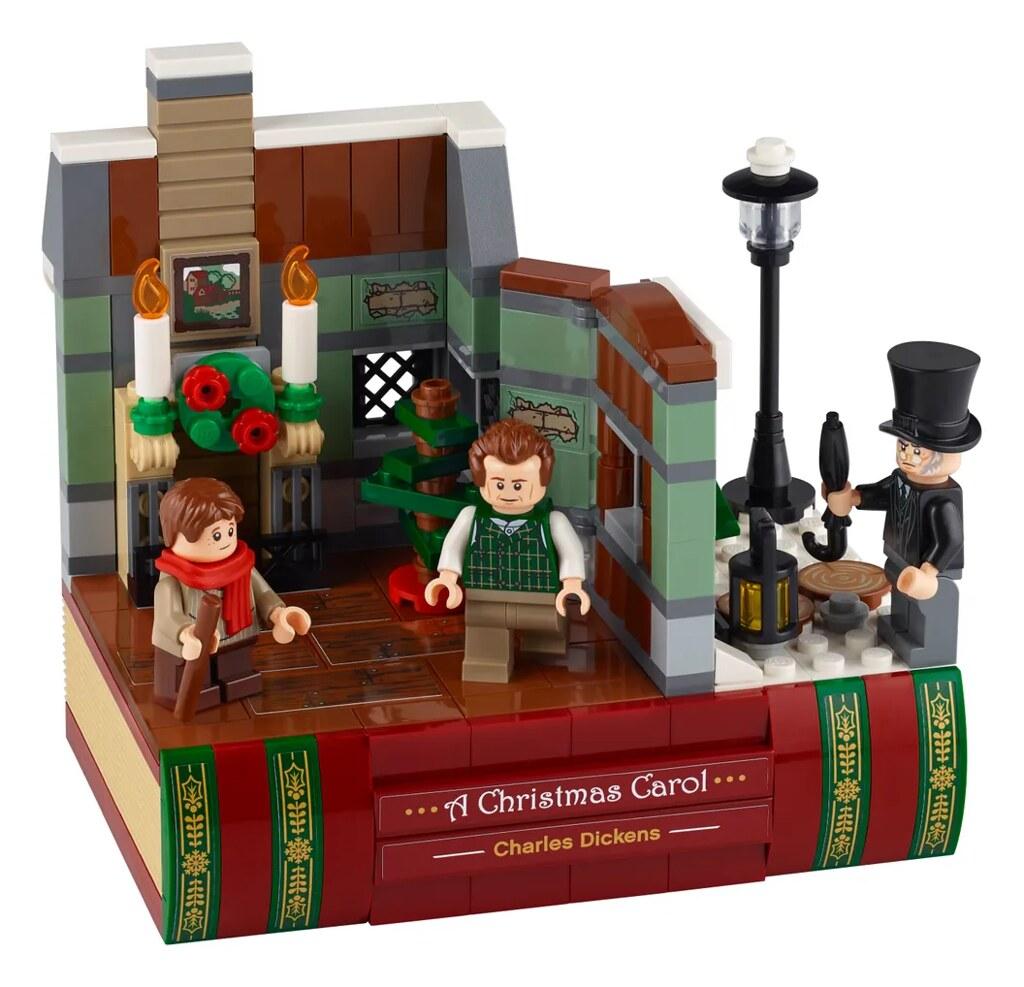 LEGO 40410「致敬查爾斯·狄更斯」聖誕節的警世寓言《小氣財神》樂高化!