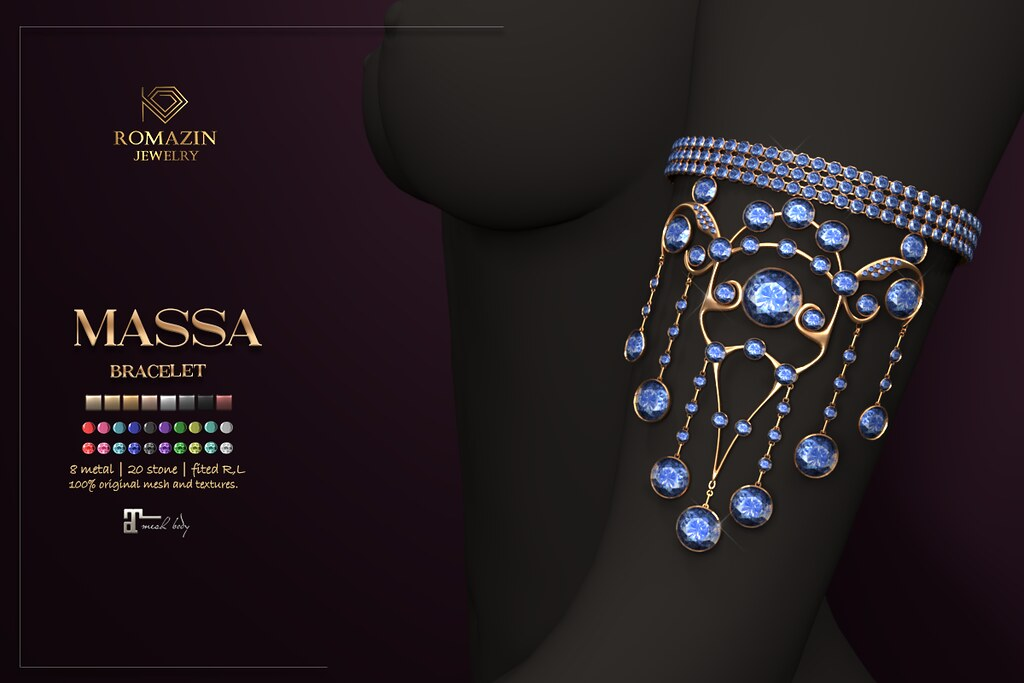 Romazin – Bracelet <Massa> – Tres Chic