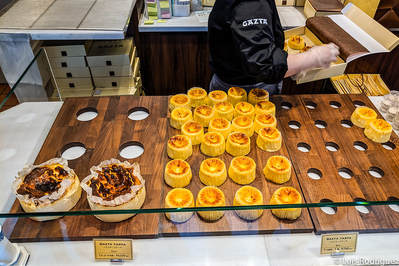 Tartas de queso de Gazta