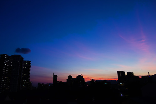 sunset george town penang malaysia