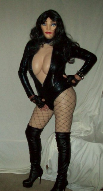 Fish Nets & Leather 5