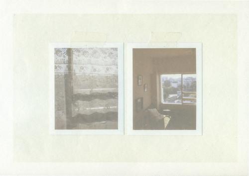 room composition, printed on washi